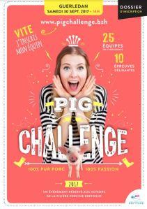 affiche pig challenge